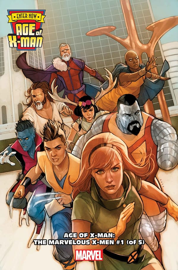 All Six Age Of X-Man Spinoff Series Revealed For February