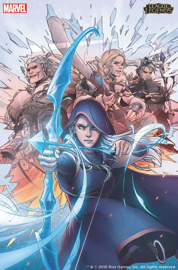 Marvel Publish League of Legends Comic Book, Digitally First