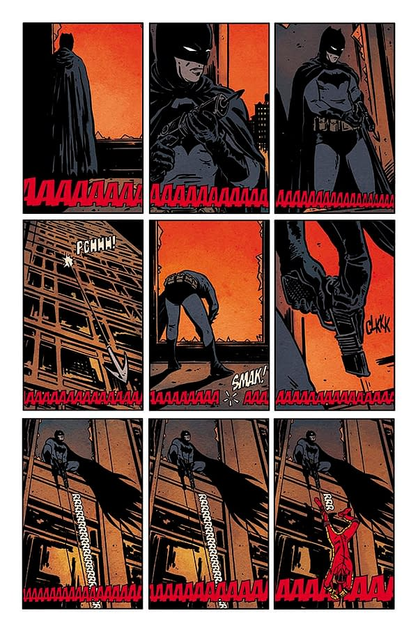 Jorge Fornés Joins Tom King on Batman – With a Bungee Jump?