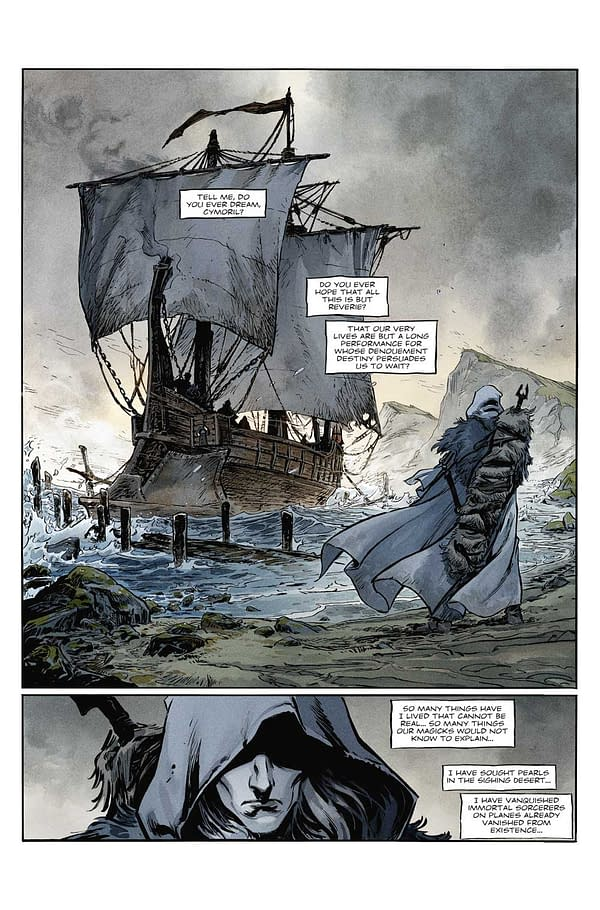 Melniboné Comes to Life in Elric: The White Wolf Volume 1 (Review)