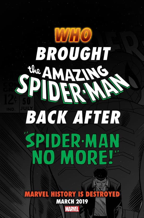 Everything You Knew About 'Spider-Man No More' Was Wrong Too