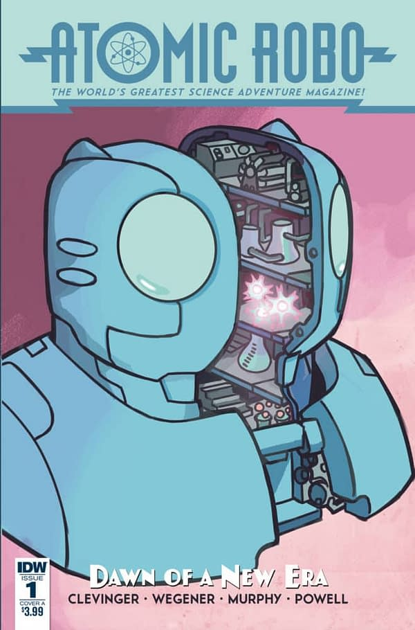 Atomic Robo VS. Academia in Dawn of a New Era #1 (Review)