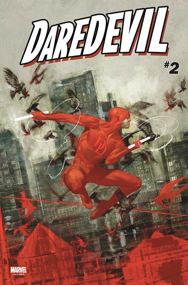 Daredevil Gunned Down by Police on Daredevil #3 Cover?