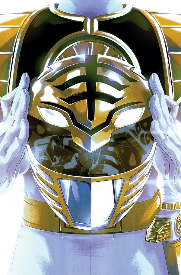 White Ranger Joins the Power Rangers Comics for 'Necessary Evil' Event – Announced at ToyFair