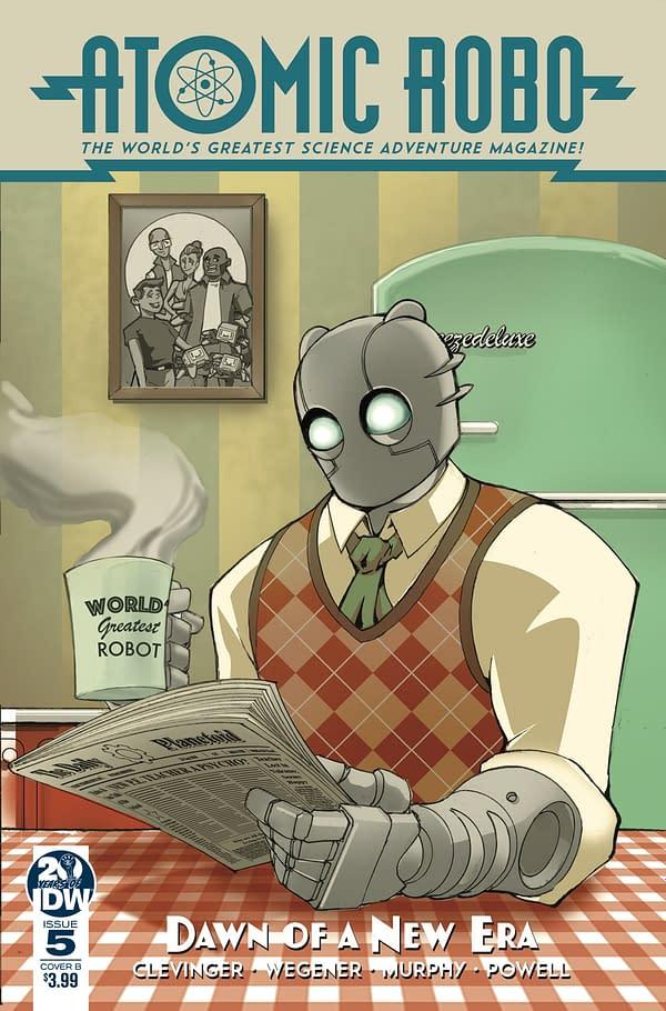 "'Atomic Robo: Dawn of a New Era' #5 Ends ""Kinder, Gentler"" Storyline"