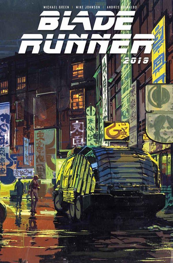 Sneak Peek at Blade Runner 2019 #1 Comic Book