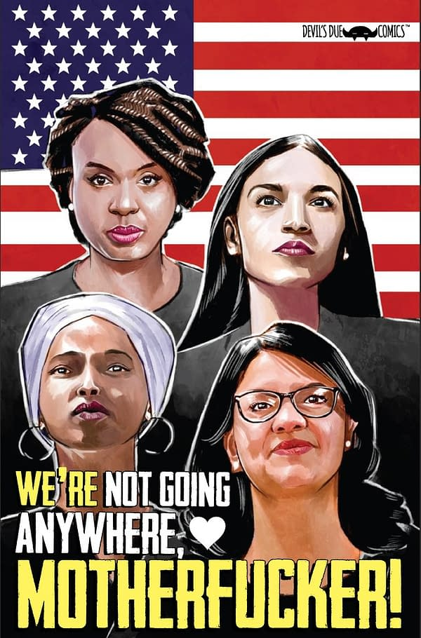 Alexandria Ocasio-Cortez and the Freshman Force Get a #2 Squad Special Comic, Out in December.