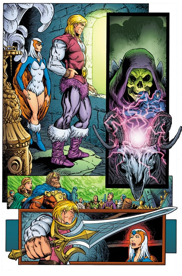 DC Comics Introduces the Anti-Eternia He-Man – Direct From German Audiocassettes of 1985 – 9-Page Preview