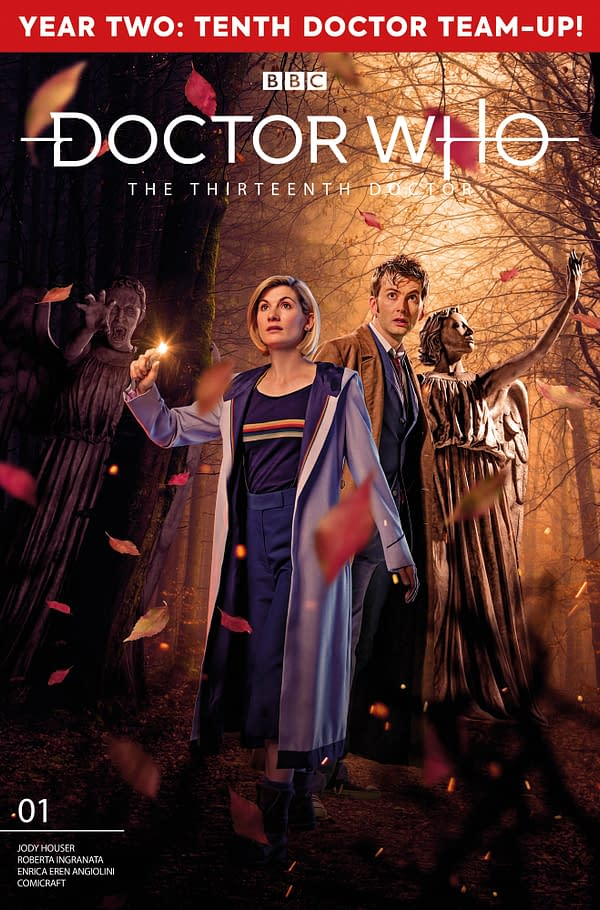 Thank FOC It's Friday -13th December 2019 - Last Chance For The Tenth and Thirteenth Doctor Who Crossover