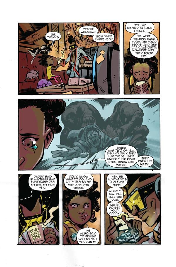 A preview page of Quarter Killer, a ComiXology Original OGN.