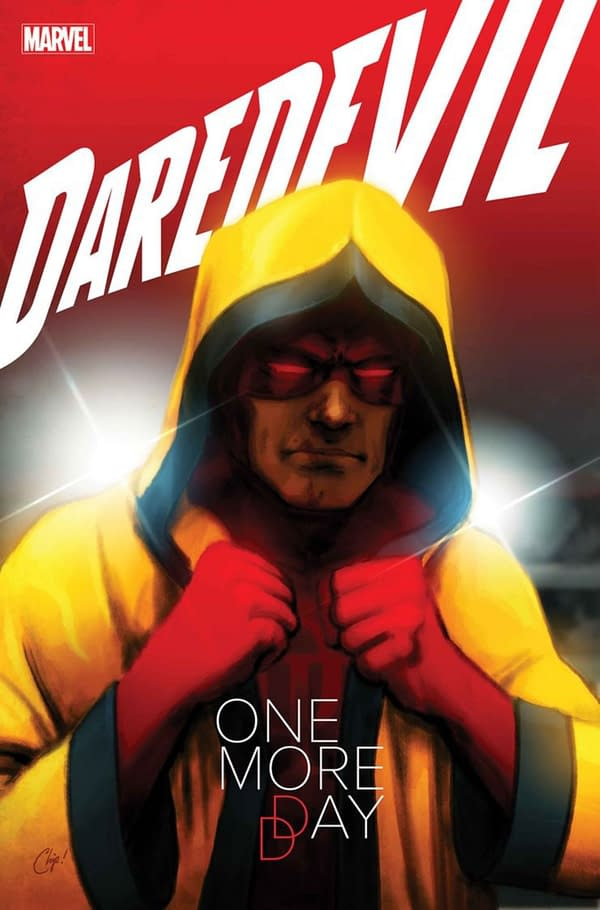 Garcia and Mooneyham Replace Chris Sprouse on Daredevil: One More Day.