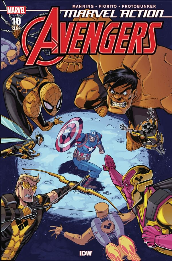 Yellow Hulk Pushes IDW Avengers #10 to $46 on eBay.
