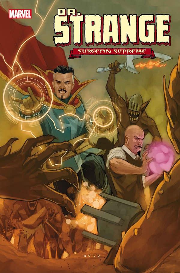 Doctor Strange #6 Returns to Marvel Comics' August Schedule.