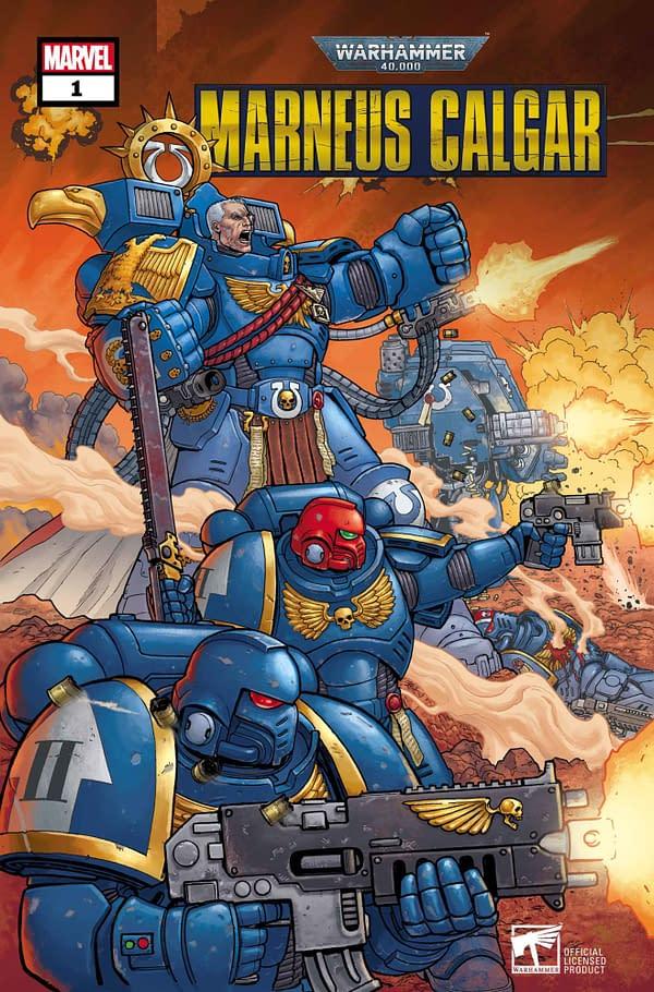 Kieron Gillen and Jacen Burrows Create Warhammer 40K Comics For Marvel.