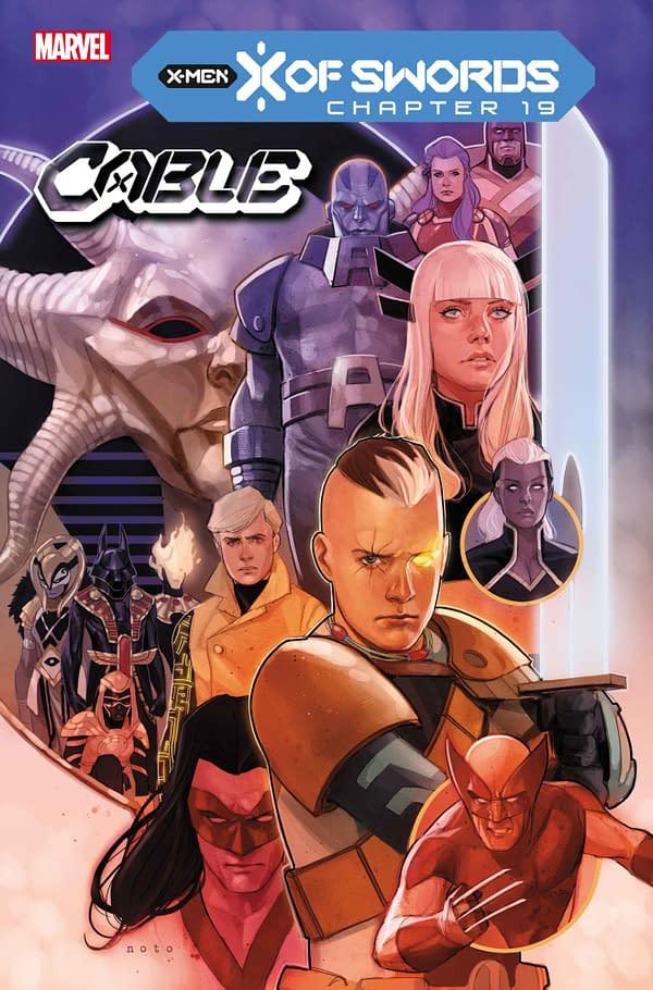 Marvel's X Of Swords Ends In Destruction- November 2020 Solicitations