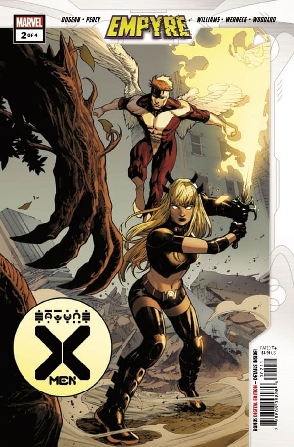 Empyre: X-Men #2 is the last stand of the old ladies of Marvel. Credit: Marvel