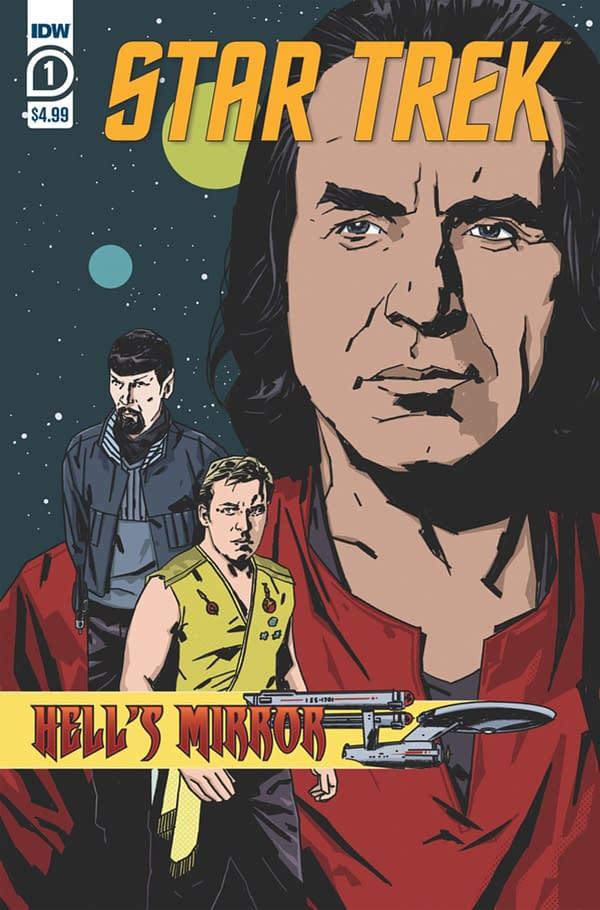 Star Trek: Hell's Mirror. Credit: IDW Publishing