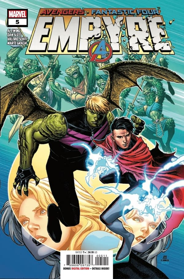 Empyre #5 continues Marvel's summer event but is it any good? Credit: Marvel Comics