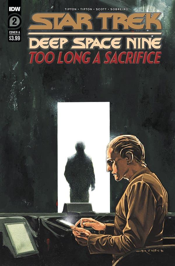Star Trek Deep Space Nine: Too Long a Sacrifice #2 cover. Credit: IDW Publishing