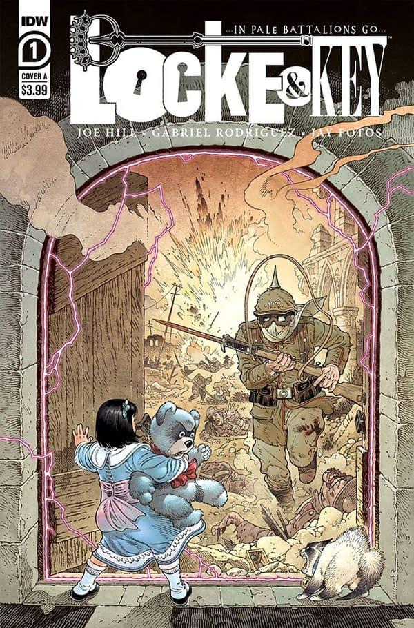 Locke & Key: …In Pale Battalions Go… #1 cover. Credit: IDW