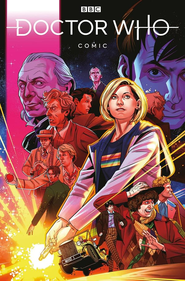 Thirteenth Doctor Meets Rose Tyler in the New Doctor Who Comics #1