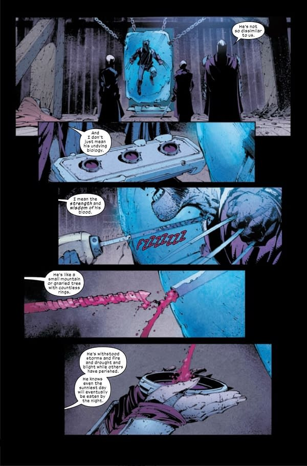 Vampires Have Logan's Ice-Cold Blood On Tap (Wolverine #5 Preview)