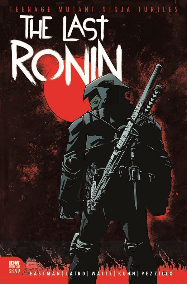 Kevin Eastman and Peter Laird's TMNT Last Ronin Delayed With Changes