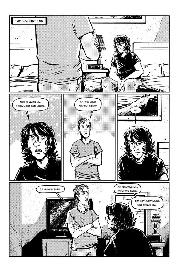 Last Song 3 page. Credit: Black Mask Studios