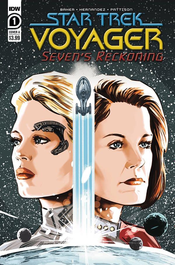 Seven Of Nine Gets Ger Own Star Trek Voyager Comic, Seven's Reckoning