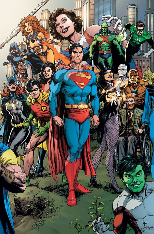 Mark Waid Back At DC Comics - Is He Coming To Superman?