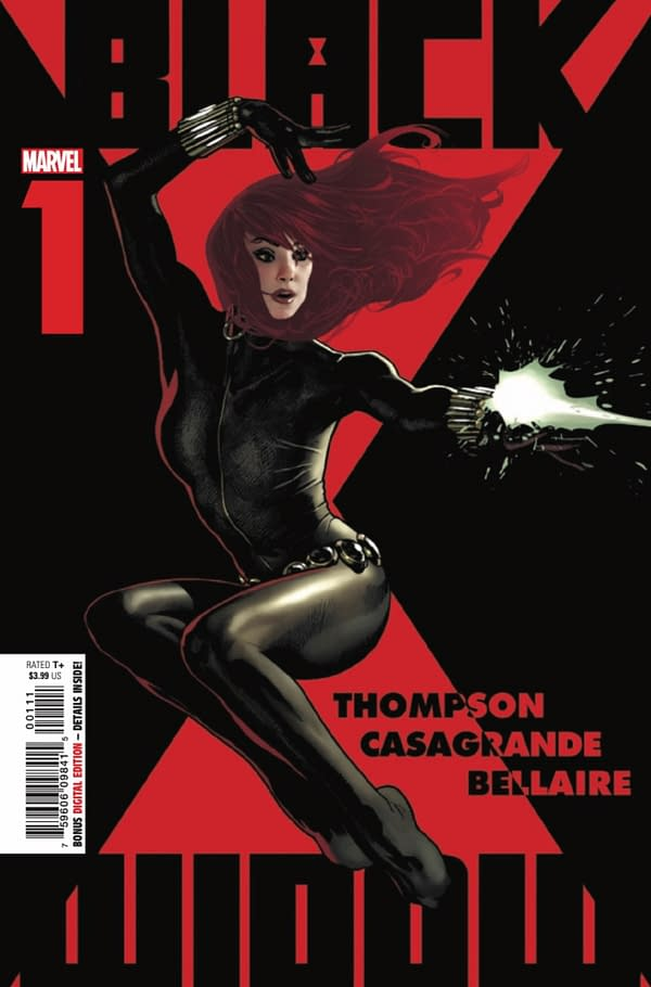 Black Widow #1 cover. Credit: Marvel