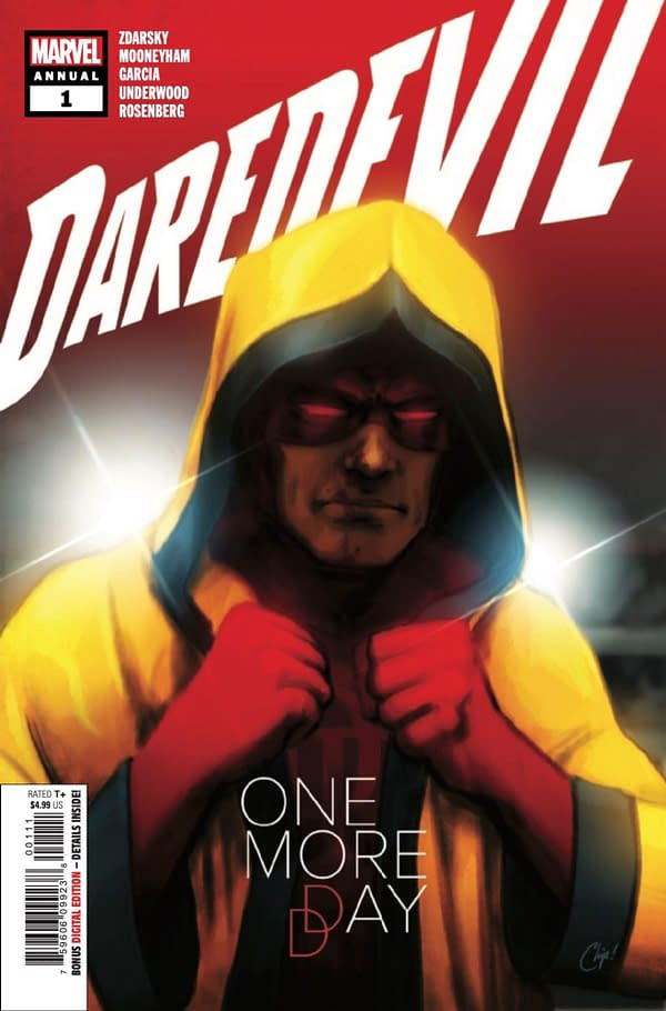 Chip Zdarsky writes Daredevil Annual #1. Credit: Marvel