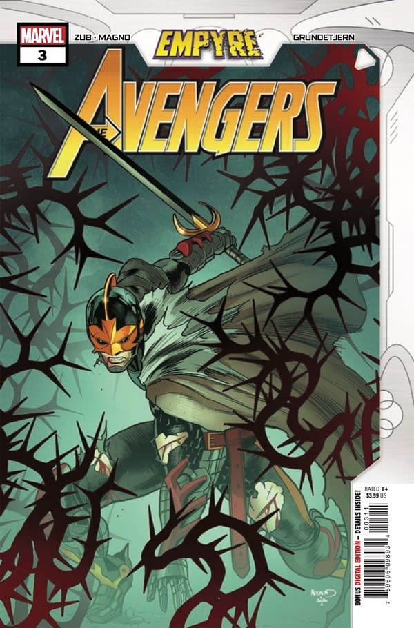 Empyre: Avengers #3 concludes Jim Zub's tie-in. Credit: Marvel