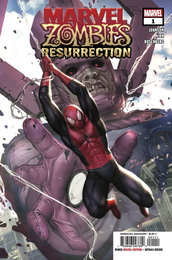 Marvel Zombies Resurrection #1. Credit: Marvel