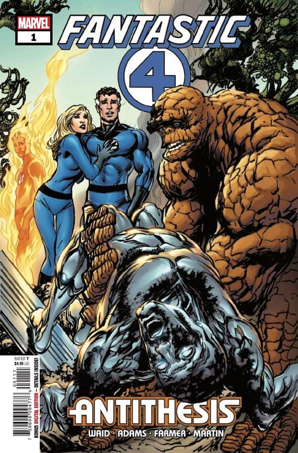 Mark Waid and Neal Adams team up on Fantastic Four: Antithesis #1. Credit: Marvel