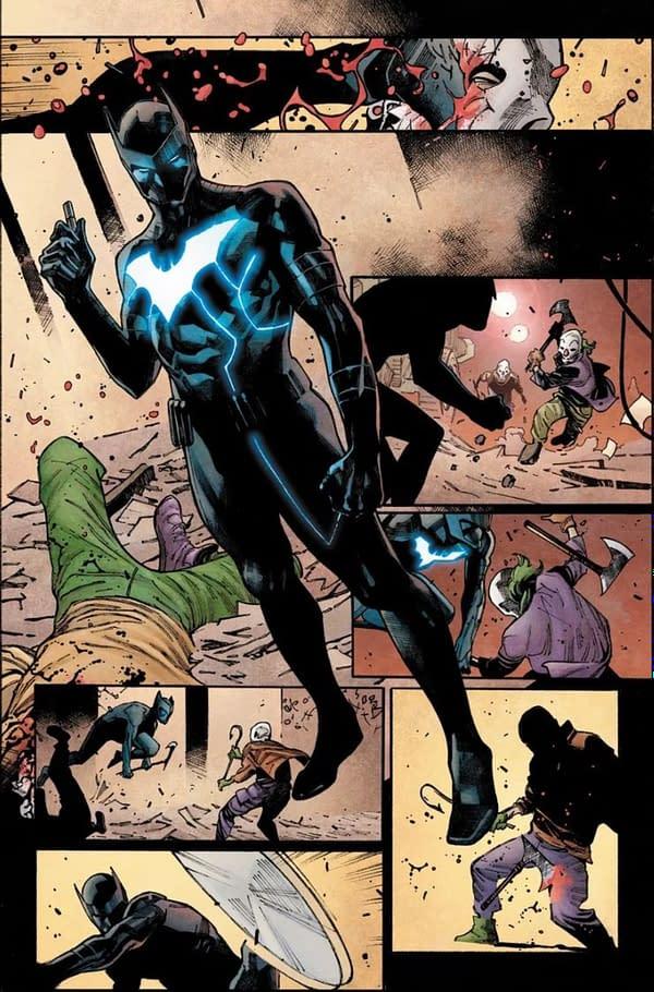 No, Luke Fox is Not The New Batman in Joker War Zone #1
