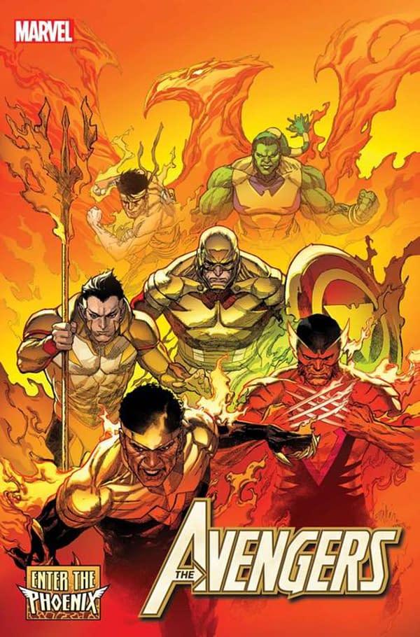 Jason Aaron Returns To The Phoenix in December's Avengers