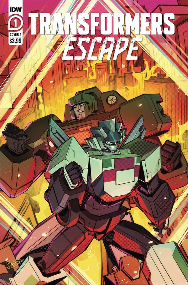 Transformers Gets A World War Comic For December