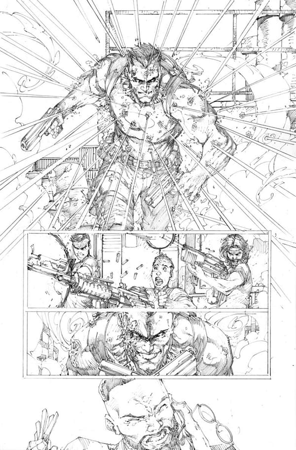 Pencils Back Up for Brett Booth on Bloodshot #10 For January 2021