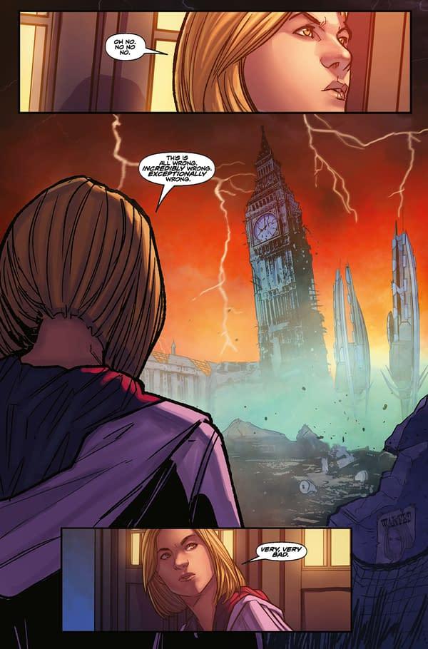 Doctor Who Comic has Peach Momoko Virgin Sketch Variant FOC Cover Added