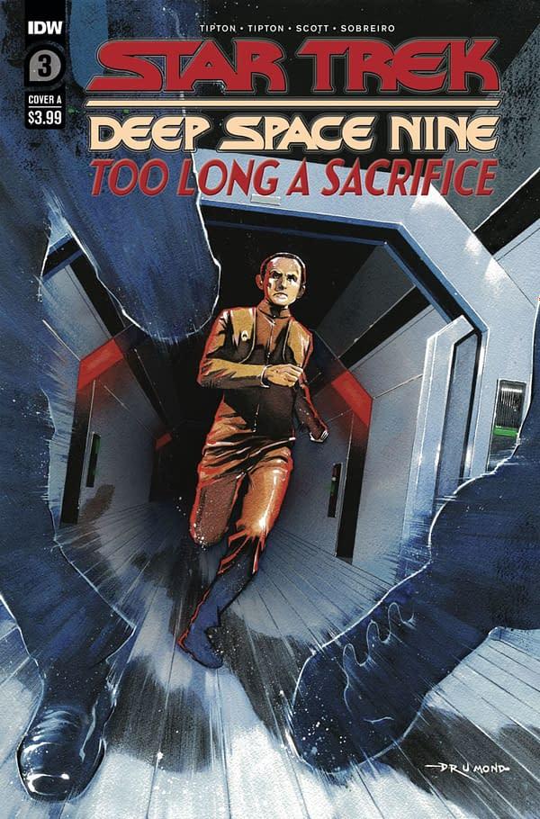 Star Trek: Deep Space Nine #3 cover. Credit: IDW Publishing