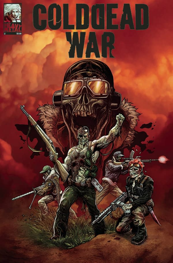 "Heavy Metal Cancels ""Cold Dead War"" Orders"