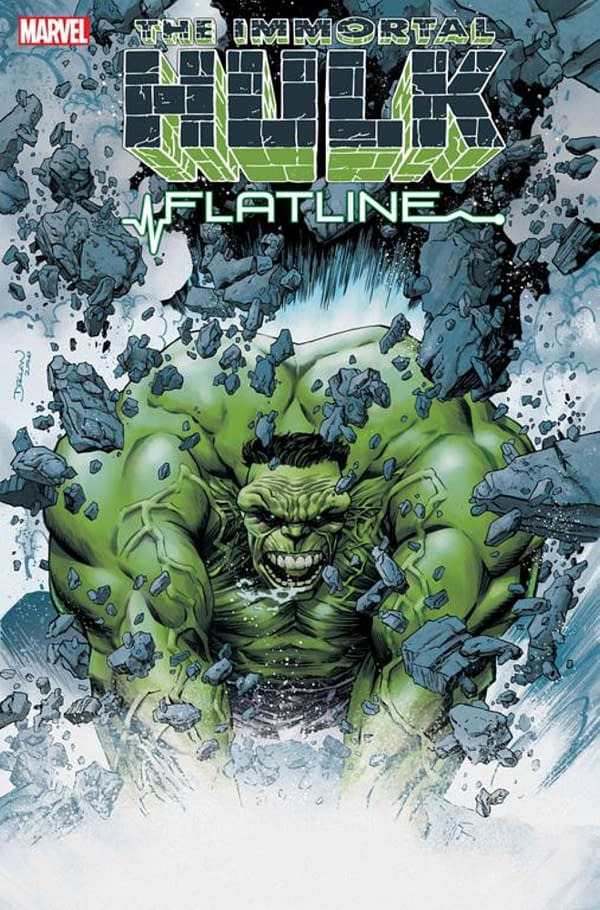 Declan Shalvey Writes And Draws Immortal Hulk: Flatline, For January
