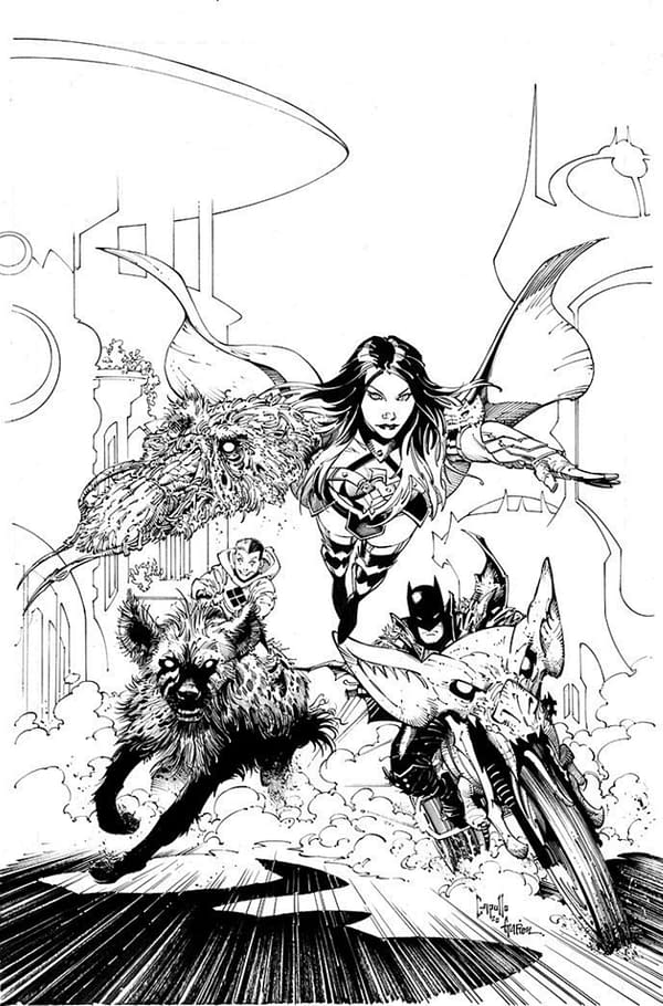 Last-Minute Death Metal #3 Third Printing Greg Capullo Cover For FOC