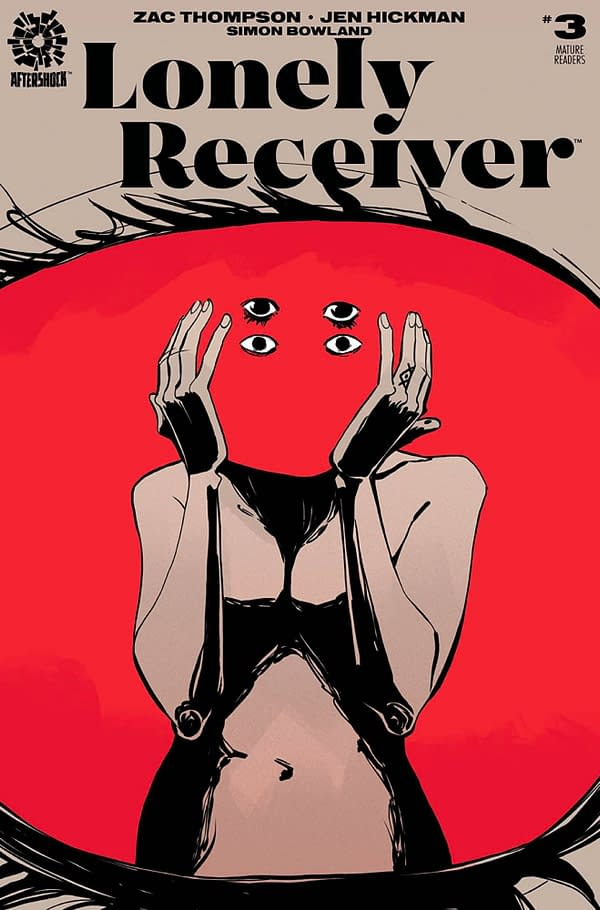 Lonely Receiver #3 cover. Credit: Aftershock