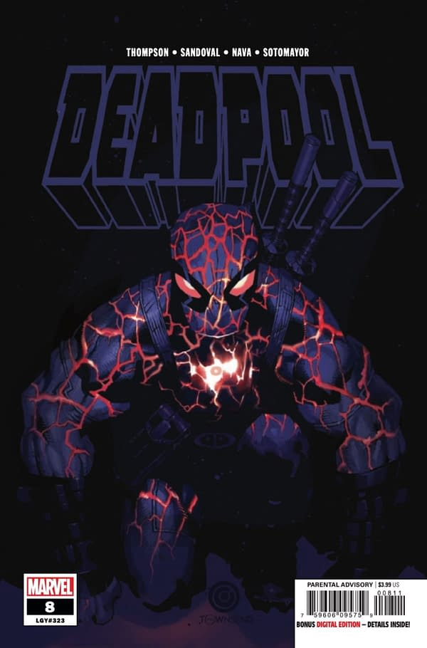 Deadpool #8 cover. Credit: Marvel