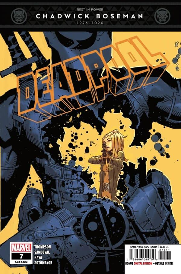 Deadpool #7 cover. Credit: Marvel
