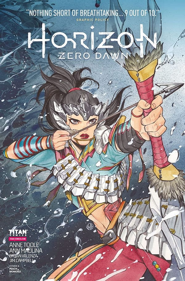 Horizon Zero Dawn #3 cover. Credit: Titan