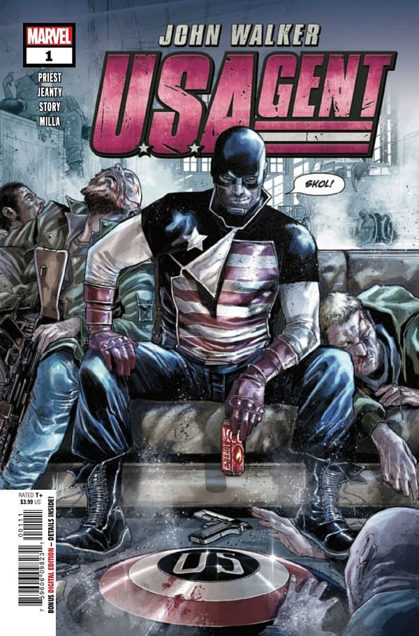 U.S.Agent #1 cover. Credit: Marvel