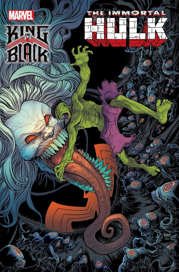 The King In Black: Immortal Hulk by Al Ewing and Aaron Kuder Will Have Nothing To Say
